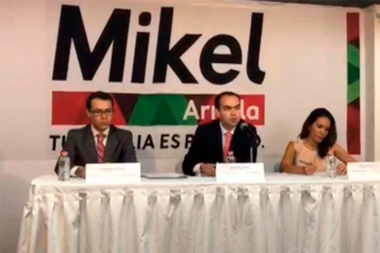 Equipo de Mikel Arriola denuncia presunta compra de votos en delegaciones