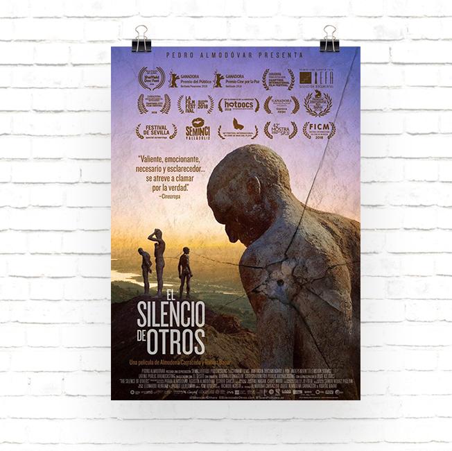 Cartel documental El Silencio de Otros