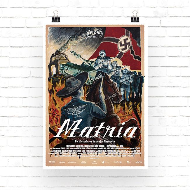 cartel de la pelicula Matria