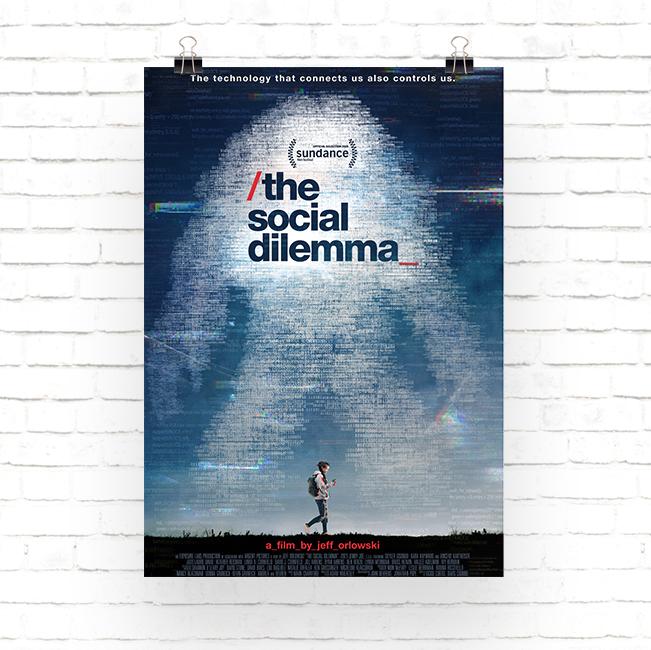 Cartel de la pelicula El Dilema de las Redes Sociales